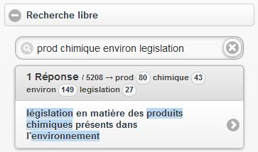 Application de recherche thésaurus - Thésaurus gemet - 5000 termes de l'environnement en 33 langues